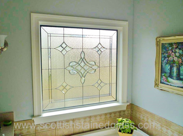 Bathroom stained glass windows kansas city for Stained glass bathroom window designs